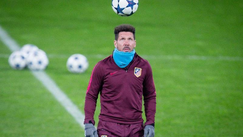 Atletico Madrid coach, Diego Simone