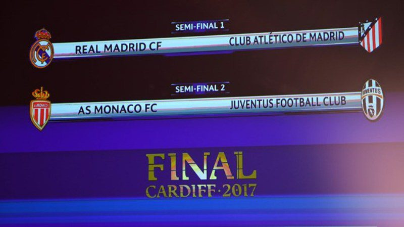 Champions League semifinal draw