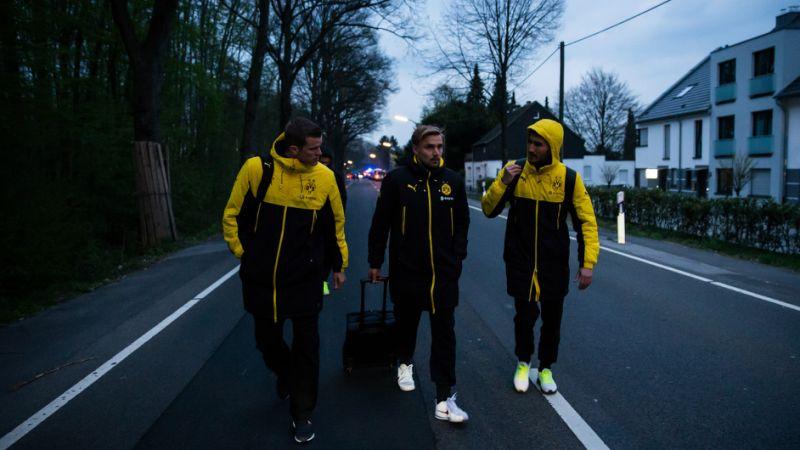Dortmund players shocked by explosive attack