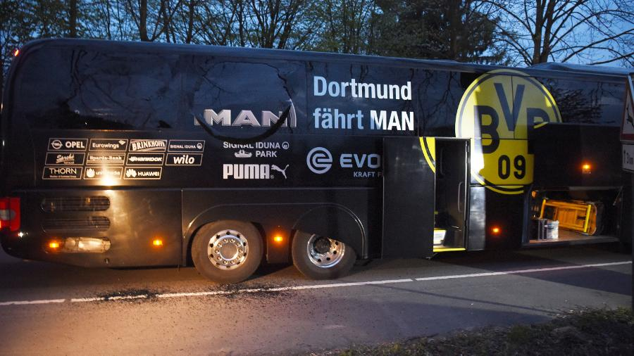 Dortmund team bus attacked ahead of CL match