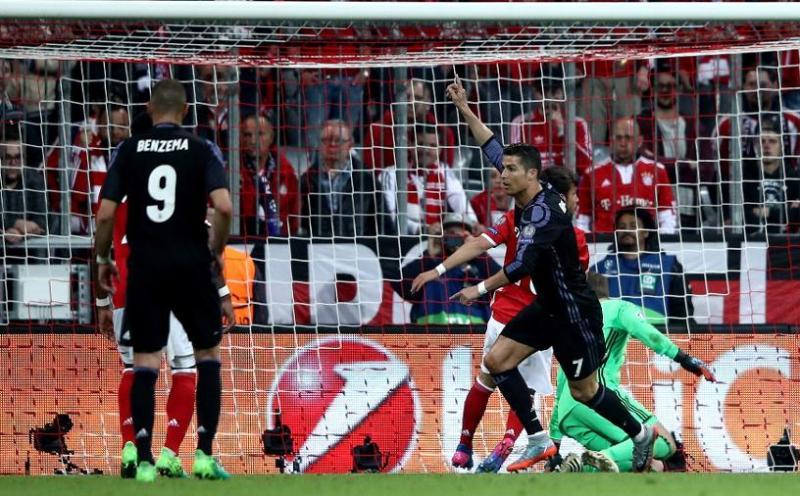 Cristiano Ronaldo scores 100 European goal