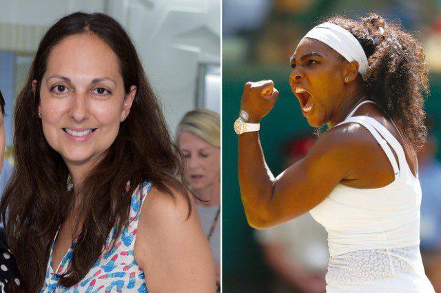 Gianvito and Serena Williams