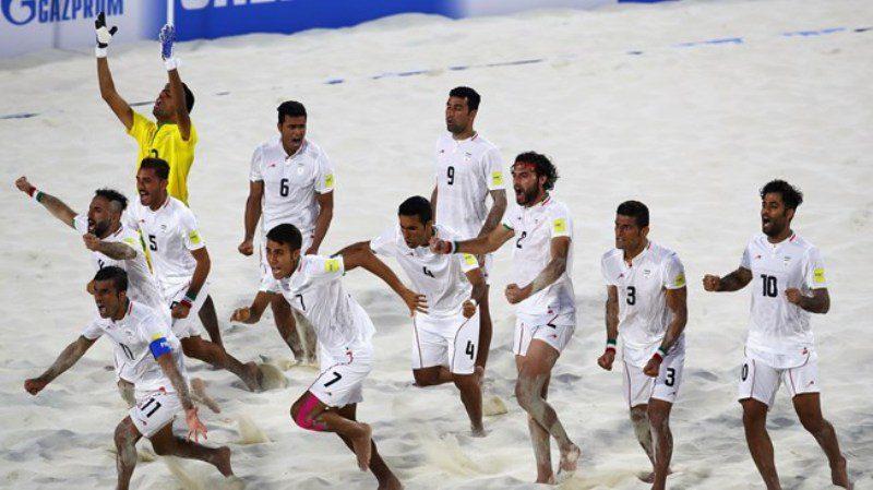 Iranian Beach Soccer Team