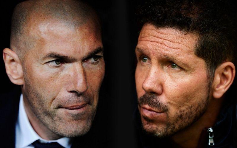 Zinedine Zidane [Left] and Diego Simeone