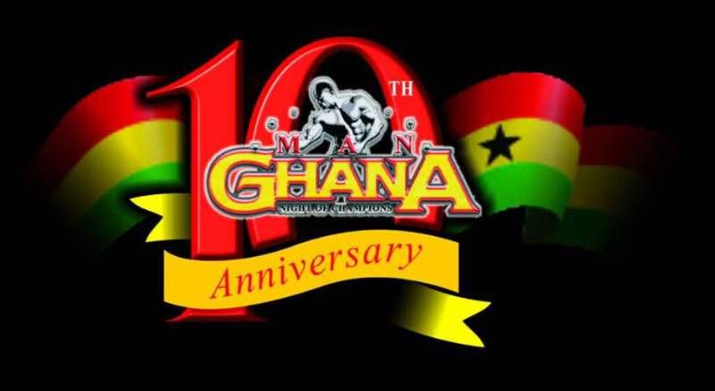 Man Ghana @ 10 logo