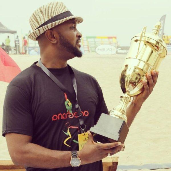 Yaw Ampofo Ankrah, President of the Ghana Beach Soccer Association