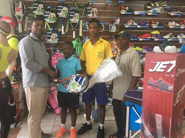 Aaron Asante and Emmanuel Dasoo