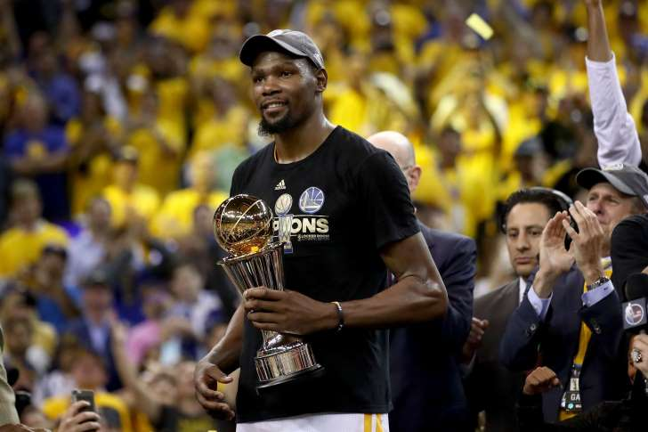 Kevin Durant [2017 NBA Most Valuable Player]