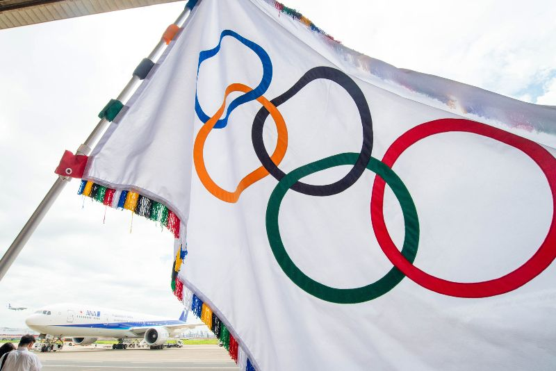 Tokyo 2020 flag