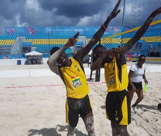 Ghana Beach Volleyball team, Bahamas 2017