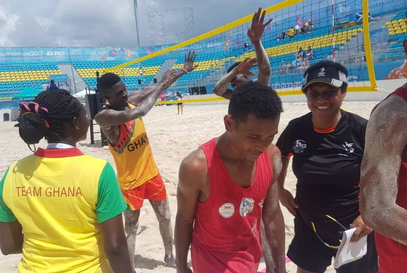 Ghana Beach Volley Team