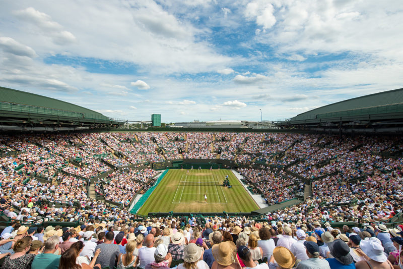 Wimbledon Open [No. 1 Court]