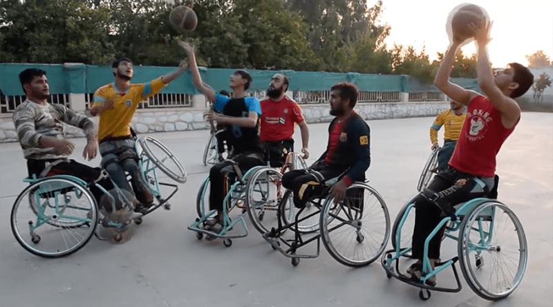 Afghan Amputee team