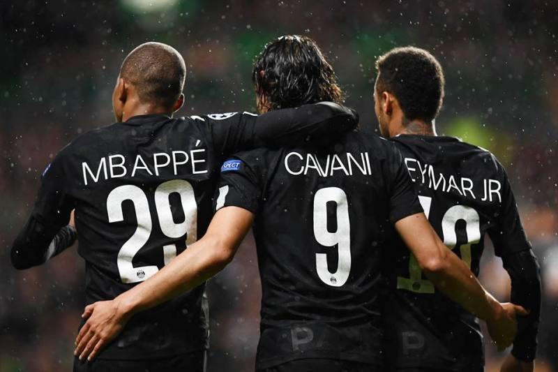 CMN - Cavani, Mbappe, Neymar