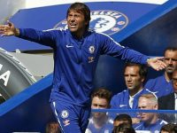 Conte goes gaga on the touchline as his captain is sent off