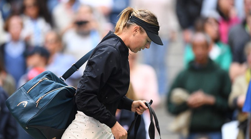 Maria Sharapova [5-time Grand Slam winner]