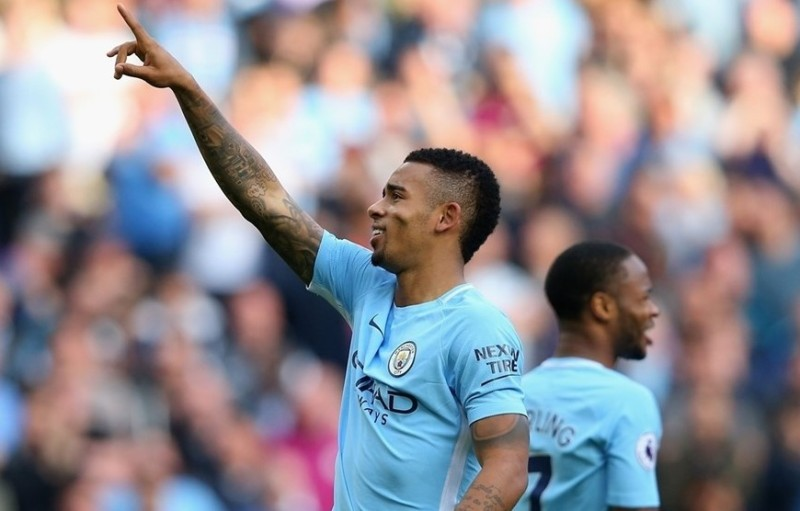 Gabriel Jesus [Man City vs. Stoke City]
