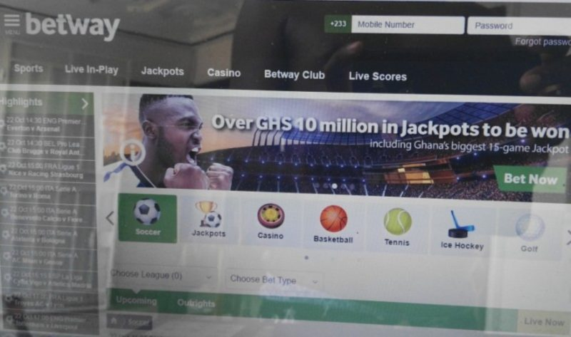 Betway Multi Betting slip introduced
