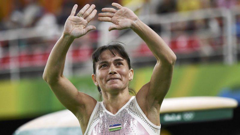 Oksana Chusovitina of Uzbekistan