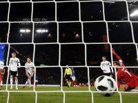 Alexandre Lacazette scores against Germany