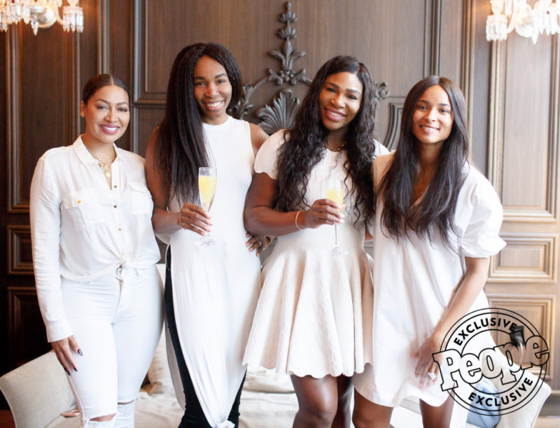 Serena Williams' Utra-Swanky Girls