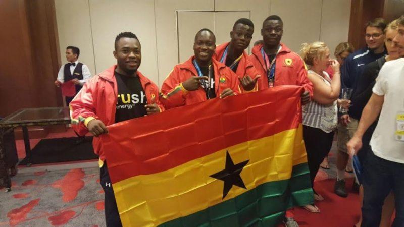 The Black Cranes of Ghana