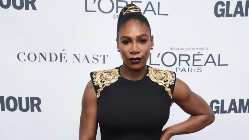 The killer-shaped Serena Williams