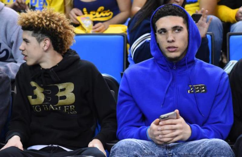 LaMelo and his brother LiAngelo Ball