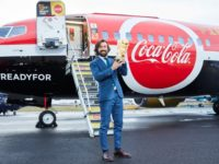 Andrea Pirlo holding the FIFA World Cup trophy