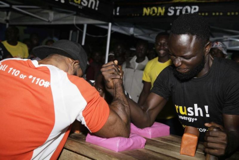 Armwrestling competition