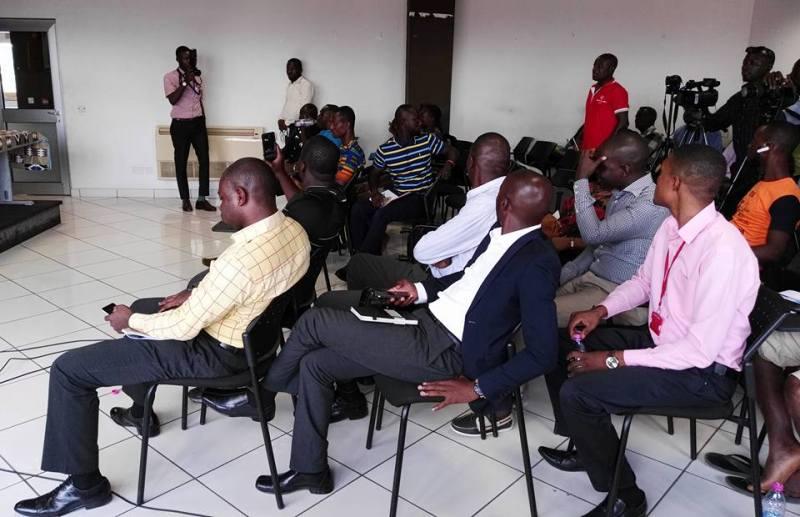 Members of the press