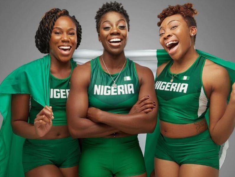 Nigeria female bobsleigh team