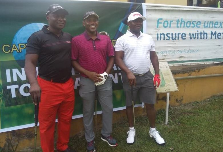 Pius Ayeh Appiah [middle] - Captain1 Golf Society Invitational Tournament