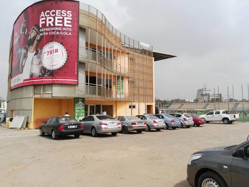The Theodosia Okoe Hockey Stadium in Accra