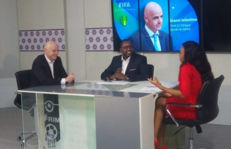 Fifa-Gianni-Infantino-interview-with-Juliet-Bawuah