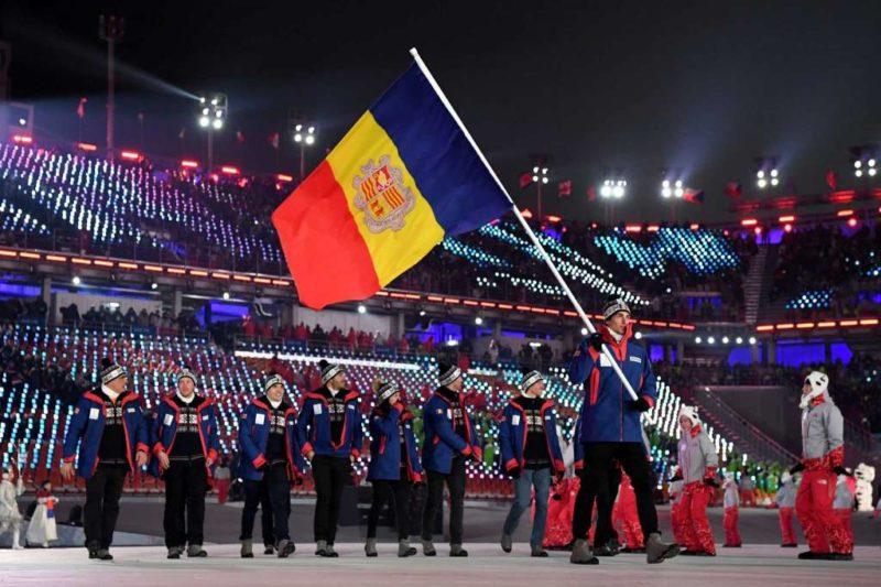 Andorra Flag Bearer