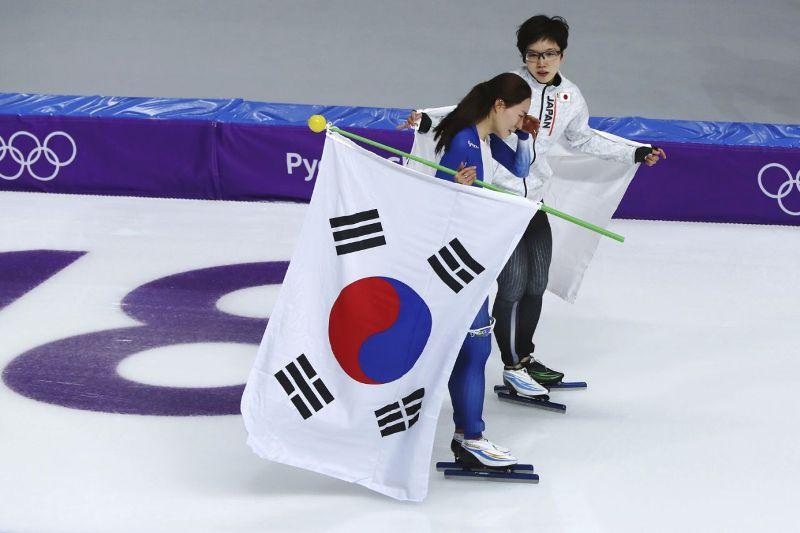 Nao Kodaira and Lee Sang-Wha