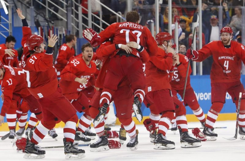 Russia Ice Hockey team, PyeonChang 2018