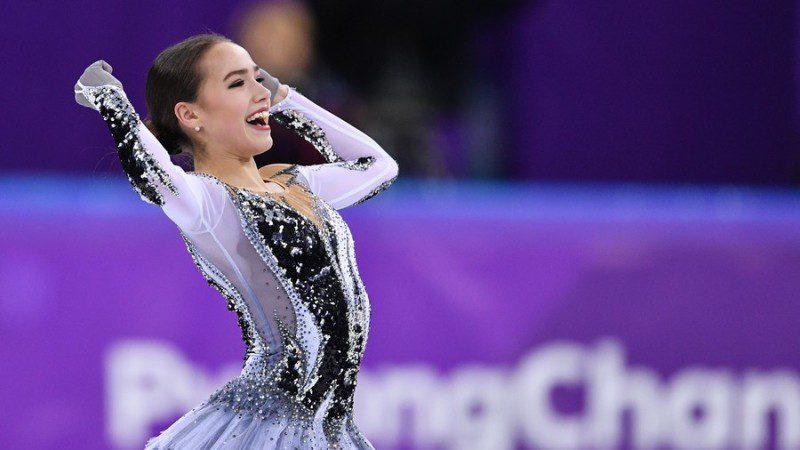 Russia's Alina Zagitova