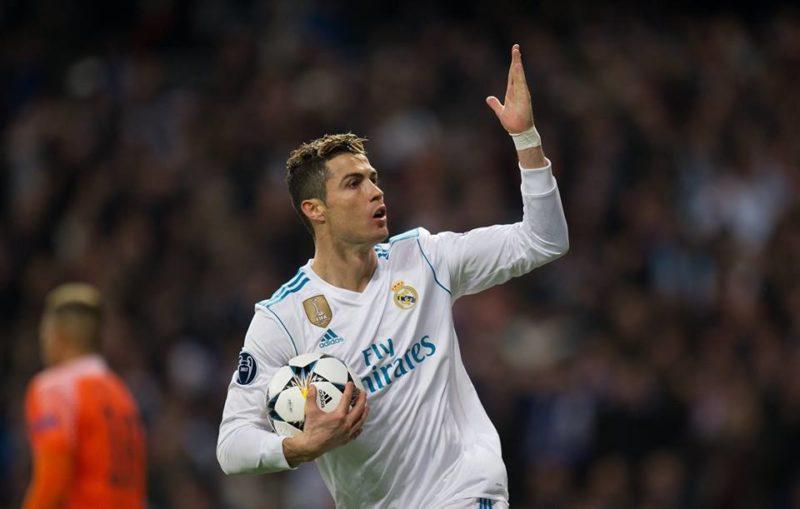 Two goal's hero Cristiano Ronaldo