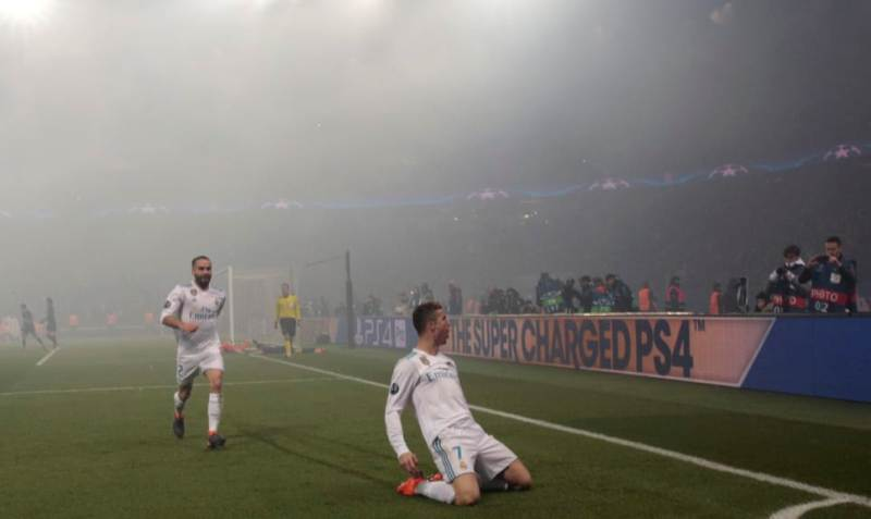 Ronaldo reaches Ruud van Nistelrooy's record