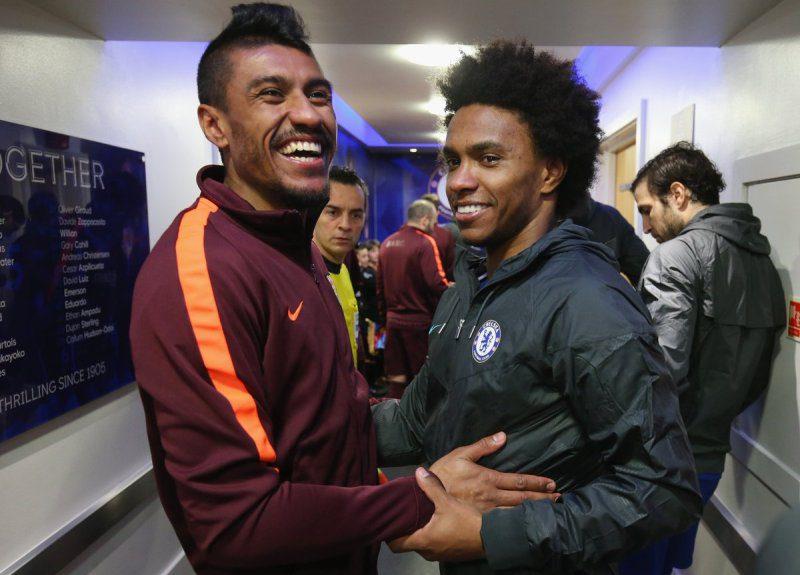 Willian and Paulinho