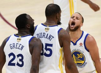 Green [23], Durant [35], and Curry [30]