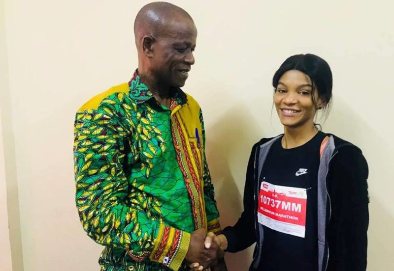 Miss Mariam Ismail meets Paul Atchoe