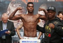 Richard Commey at the weigh-in