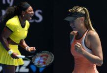 Serena Williams vs. Maria Sharapova French Open 2018