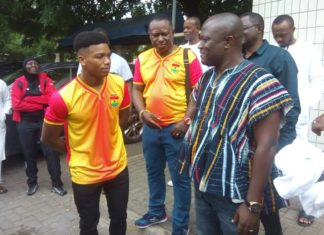 Abieku with Accra Mayor
