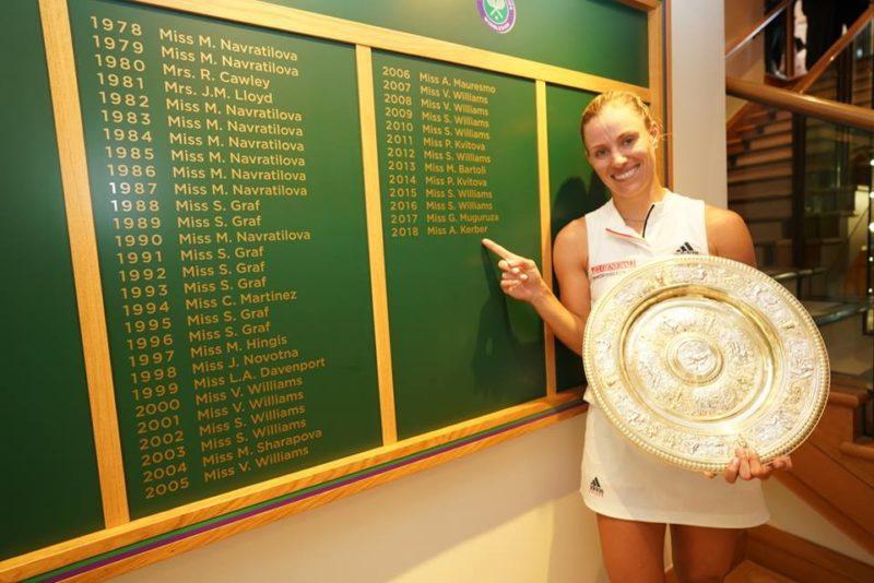 Angelic Kerber [2018 Wimbledon Champion]