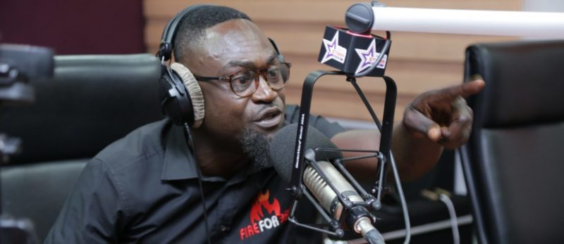 Countryman Songo speaking to B. Ray on Starr FM
