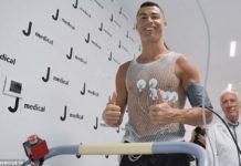 Cristiano Ronaldo undergoing Juve medicals